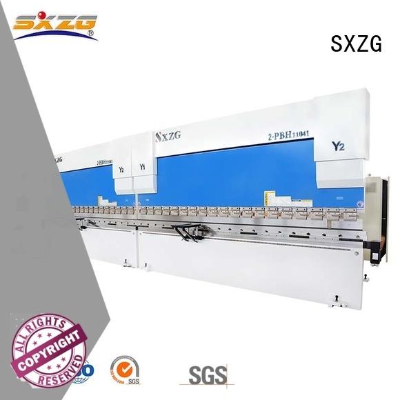 SXZG Best metal press brake supply for bending a metal plate