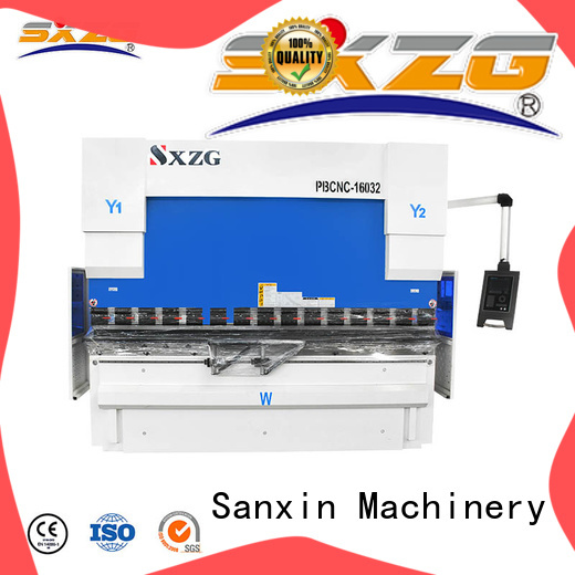 SXZG press brake technology suppliers for bending a metal sheet