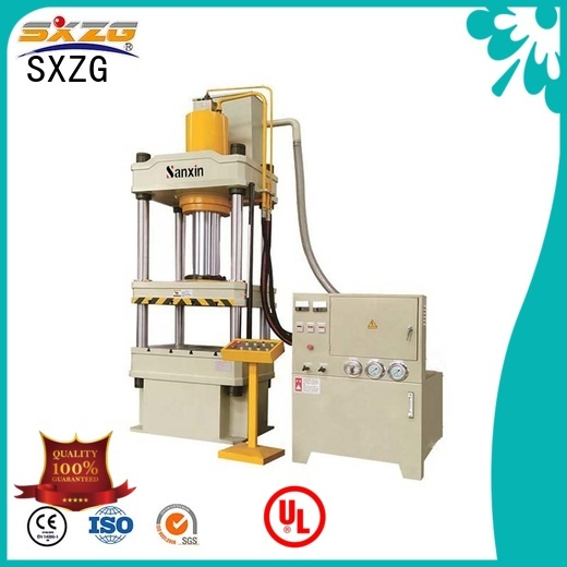 SXZG hydraulic press frame company for bending a metal plate