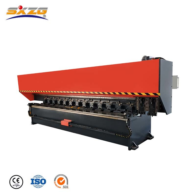 SX-PGNK-1250x4000 Vertical CNC Hydraulic Metal Sheet V Grooving Machine