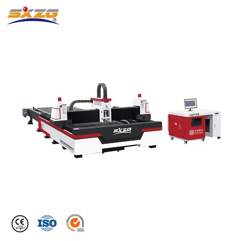 Open Type Exchange Table Cnc Laser Metal Cutting Machine 2000W 3000W SXZ-3015