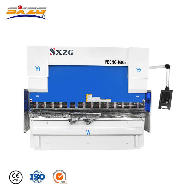 PBCNC-160T/3200MM CNC Sheet Metal Press Brake with DA52S Controller