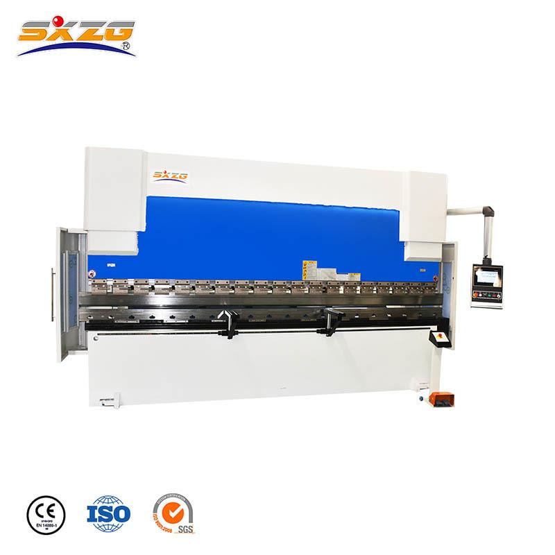 PBCNC-125T/4000MM CNC Plate Press Brake Machine with DA53T Controller