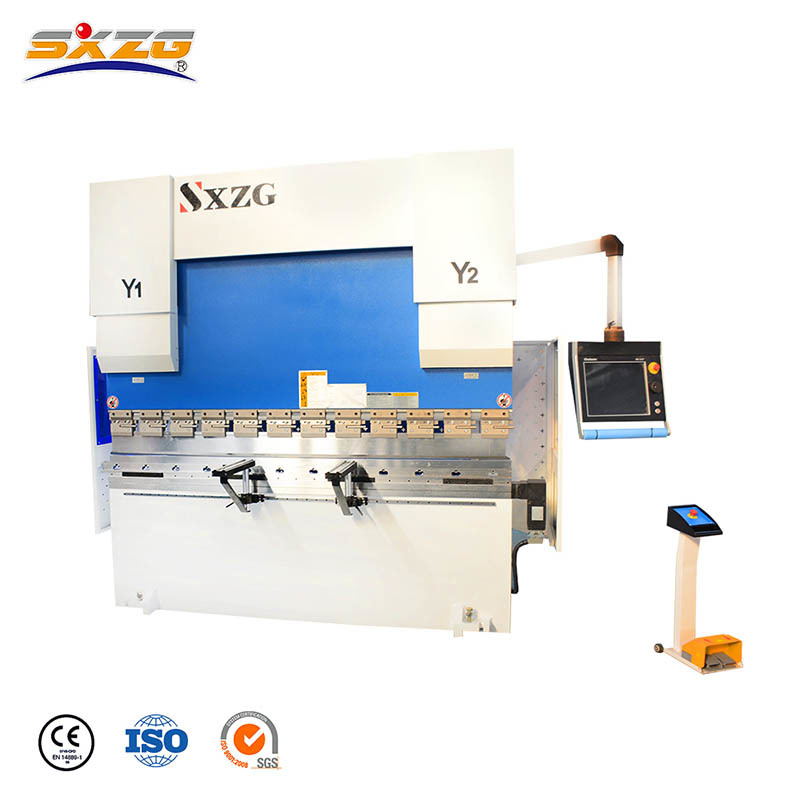 PBCNC-100T/2500MM Small CNC Sheet Metal Brake with DA66T Controller