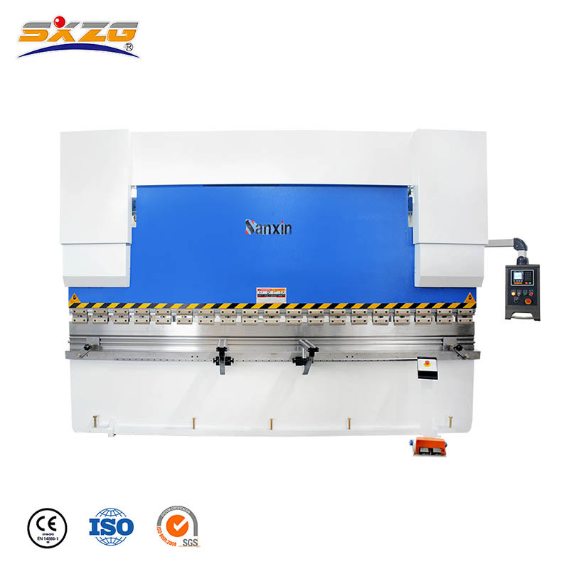 WC67K-100T/3200MM Hydraulic Press Brake with E21 Controller