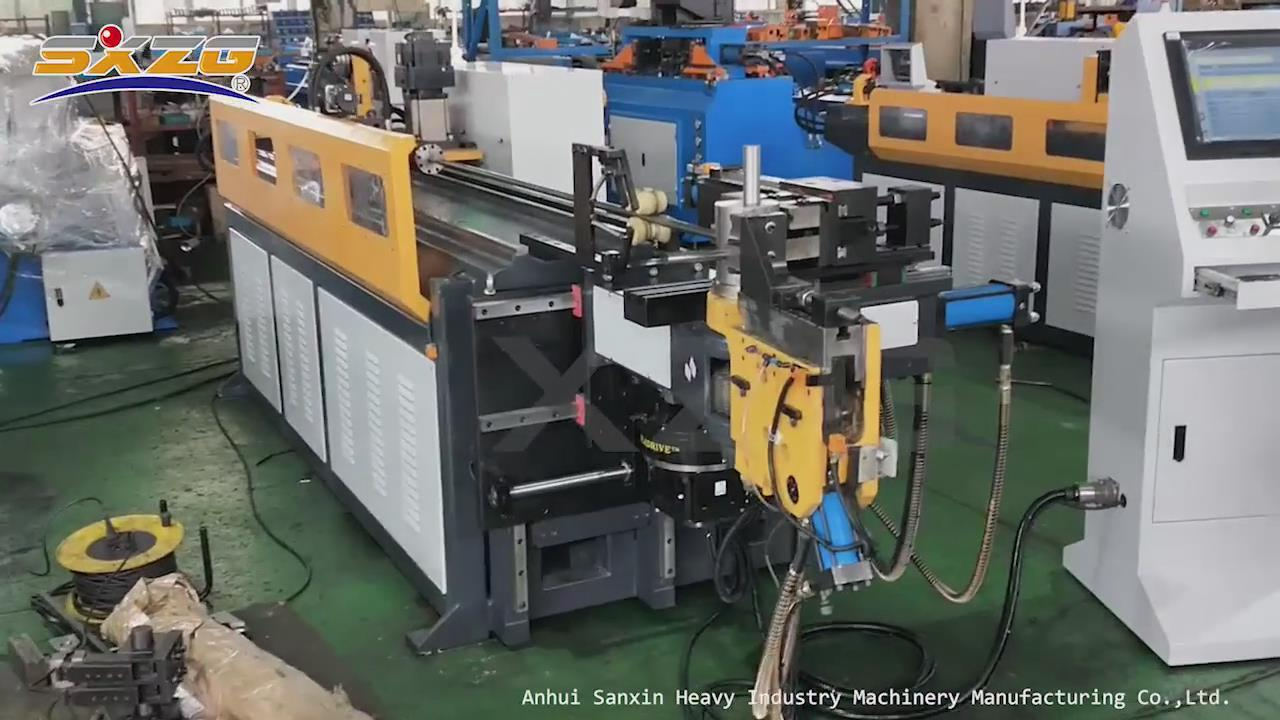 DW38CNC-5A-3S CNC Tube Bending Machine