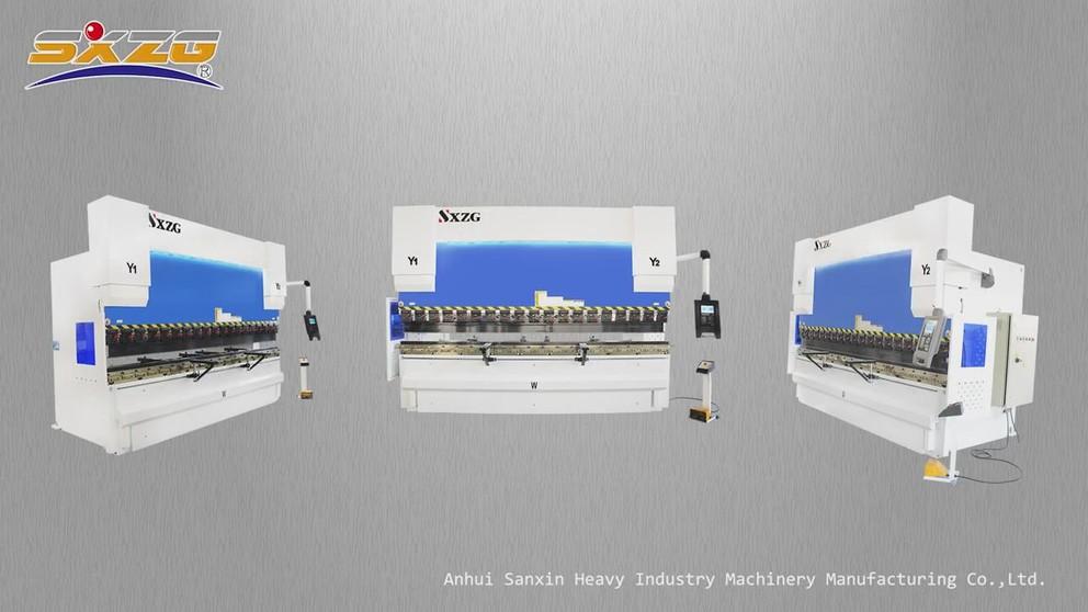 PBCNC-200T4000MM DA52S 4+1 Axis Press Brake