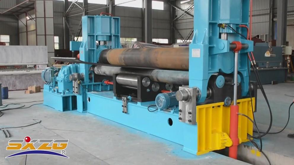 W11S Upper roller uniervsal hydraulic rolling machine