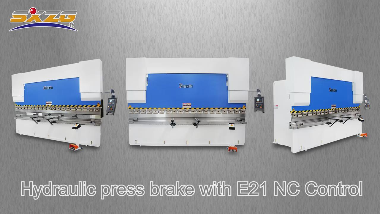 WC67K-200T 3200MM E21 Press Brake with good backgauge