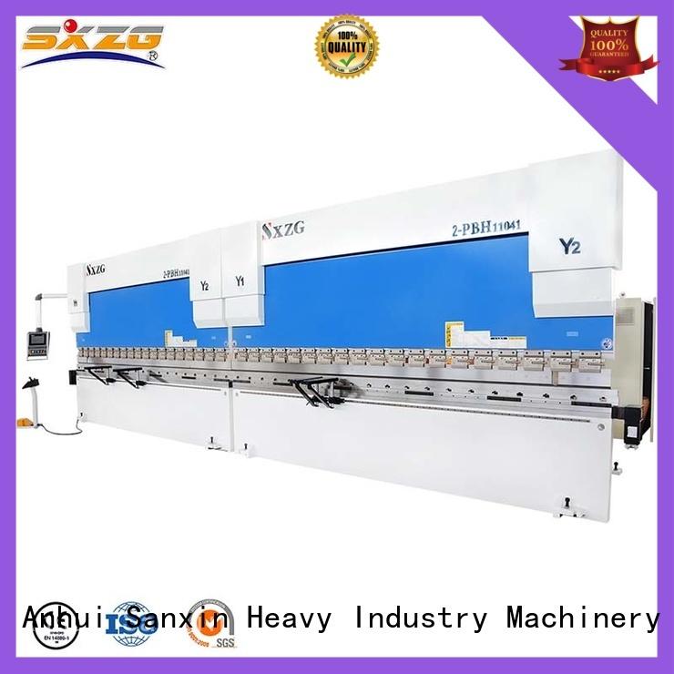 SXZG press cnc factory for bending a metal sheet