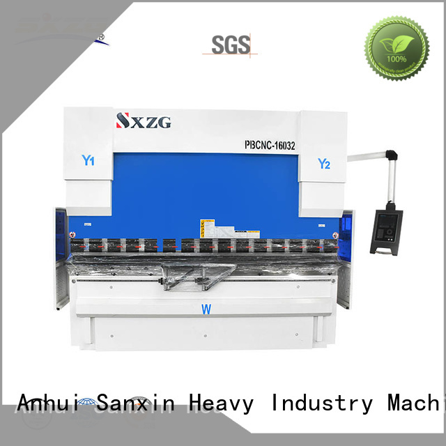 SXZG Custom finger press brake company for bending a metal plate