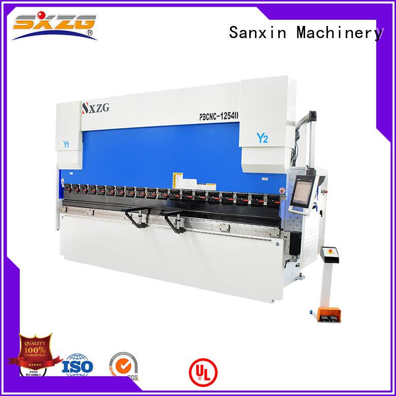 SXZG Custom press break machine manufacturers for bending a metal plate