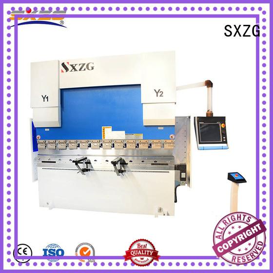 SXZG second hand press brake for business for bending a metal sheet