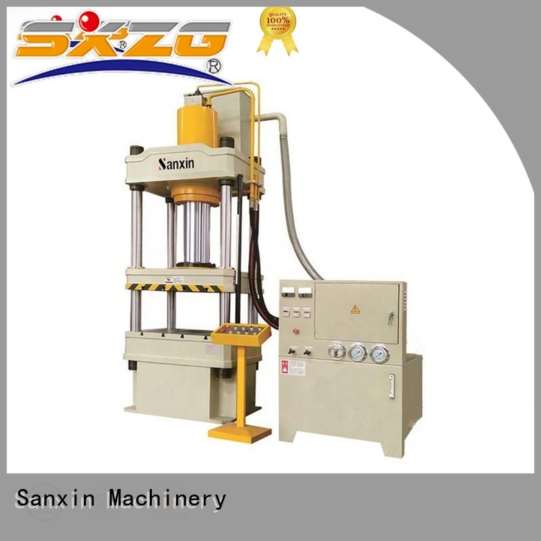 SXZG hydraulic press machine working suppliers for bending a metal plate