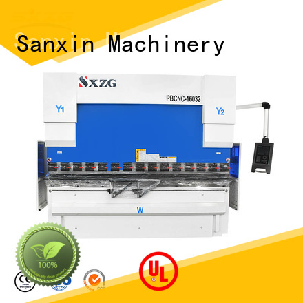 Latest hydraulic press brake china manufacturers for bending a metal sheet