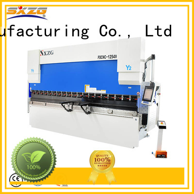 High-quality hydraulic press brake bending machine manufacturers for bending a metal plate