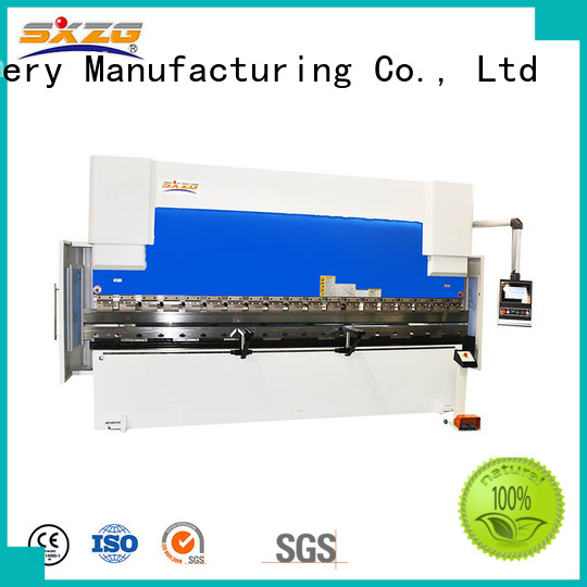 SXZG High-quality press brake definition company for bending a metal plate