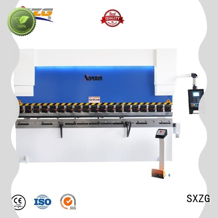 SXZG Top press break machine manufacturers for bending a metal sheet