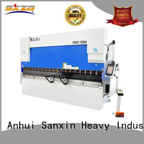 SXZG Wholesale cnc hydraulic press brake machine company for bending a metal sheet
