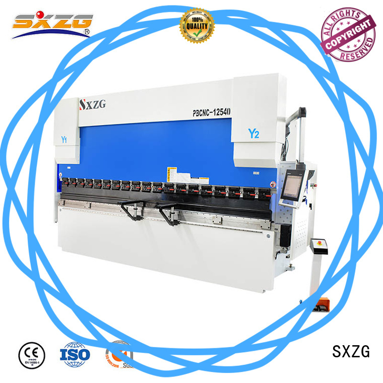 SXZG bantam press brake factory for bending a metal sheet