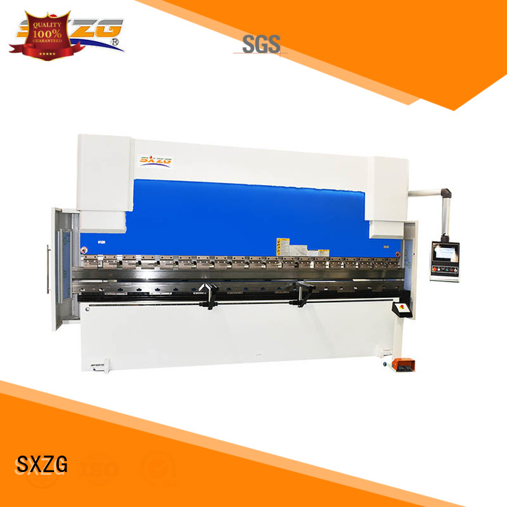 SXZG Top standard press brake suppliers for bending a metal sheet