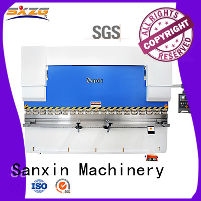 SXZG pneumatic press brake factory for bending a metal sheet