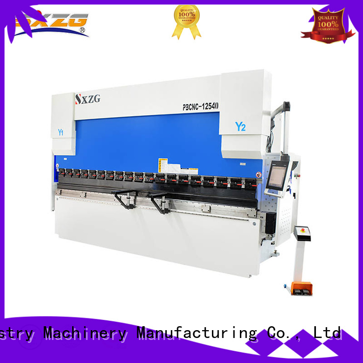 SXZG cnc press brake machine operator suppliers for bending metal