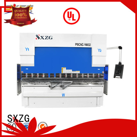 SXZG cnc press brake for sale for business for bending a metal plate