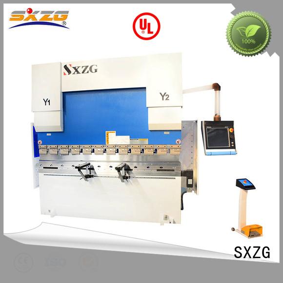SXZG brake press office for business for bending metal