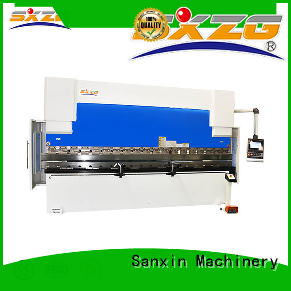 SXZG press brake bending suppliers for bending a metal sheet