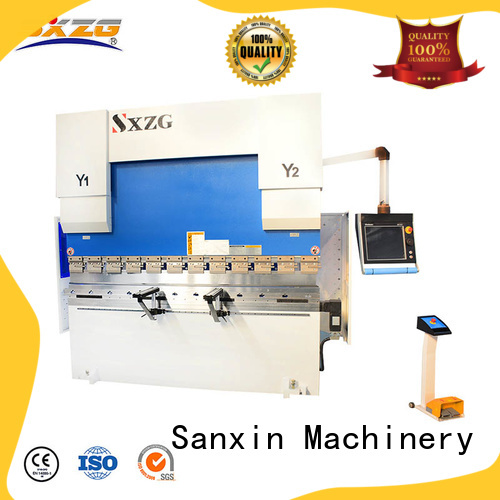 SXZG nc hydraulic press brake machine suppliers for bending a metal sheet