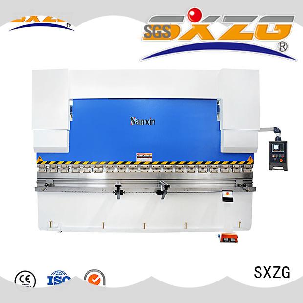 SXZG servo press brake manufacturers for bending a metal plate