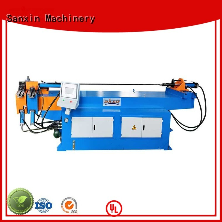 SXZG Latest iron pipe bending machine manufacturers for handrails production line