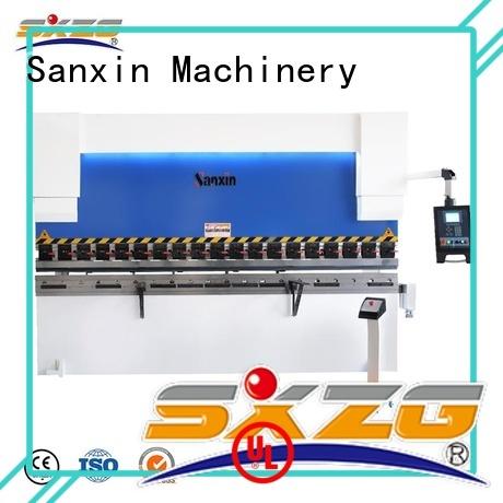 SXZG Top masteel press brake manufacturers for bending a metal sheet