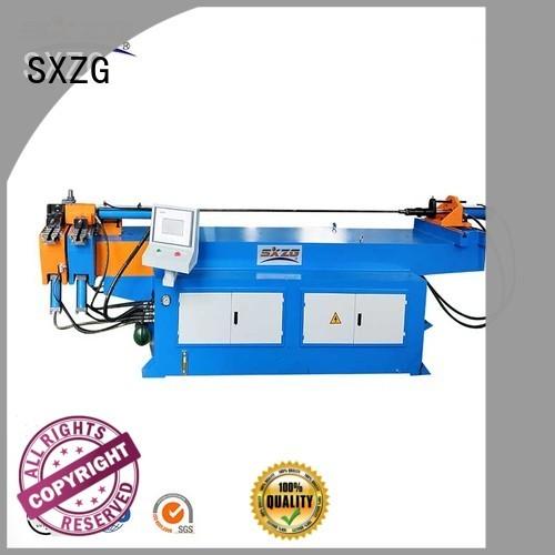 SXZG Custom simple pipe bending machine supply for tubing bending