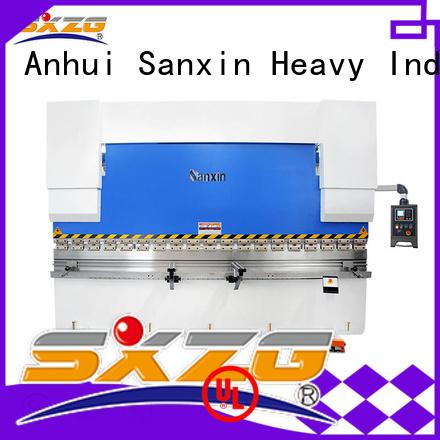Custom press cnc manufacturers for bending a metal plate