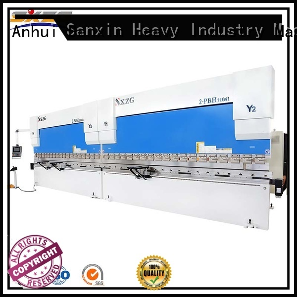 SXZG nc press brake manufacturers for bending metal
