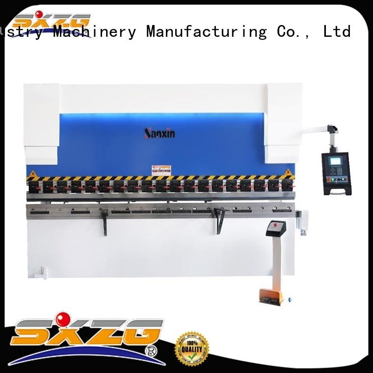 New plate shearing machine factory for bending a metal sheet