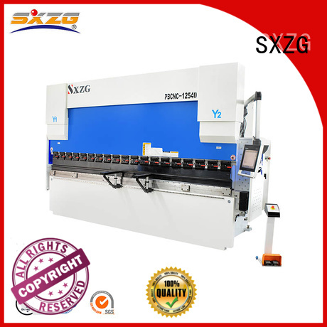 SXZG Latest air press brake supply for bending a metal sheet