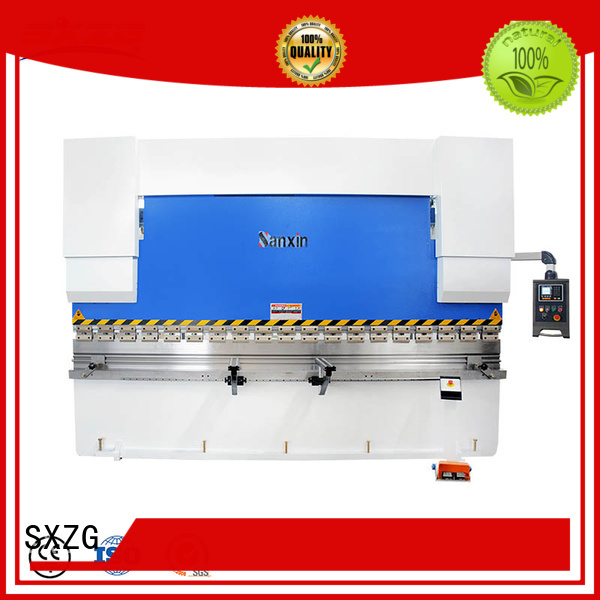 SXZG Top plate bending machine company for bending a metal plate