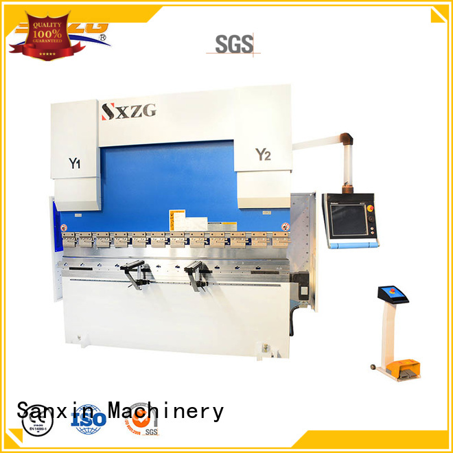 SXZG press brake service factory for bending a metal plate