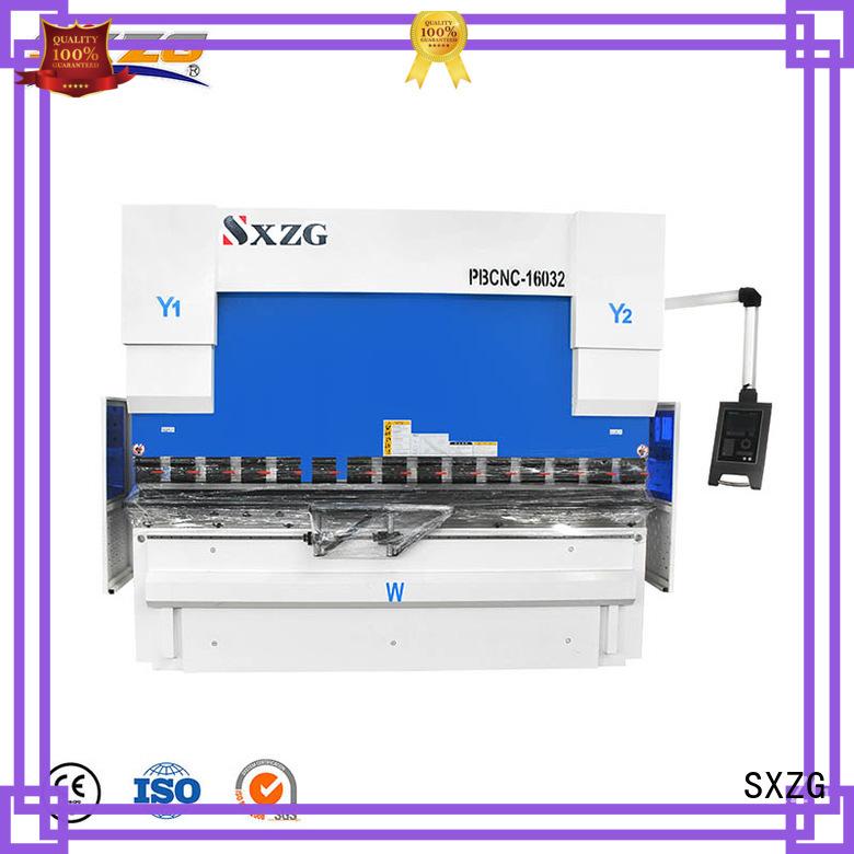 SXZG shearing machine manufacturers for bending metal