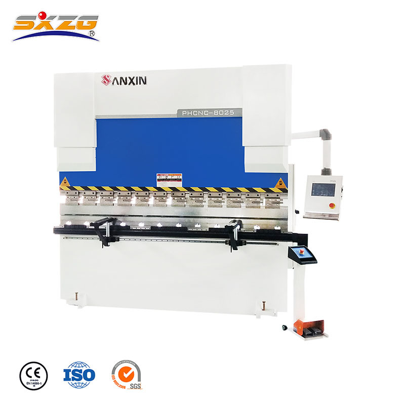WC67K-80T/2500MM CNC Press Brake with TP10S System