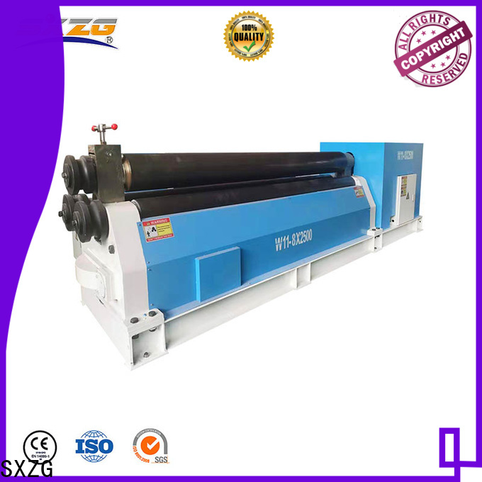SXZG best joint roller machine suppliers for metal plate rolling