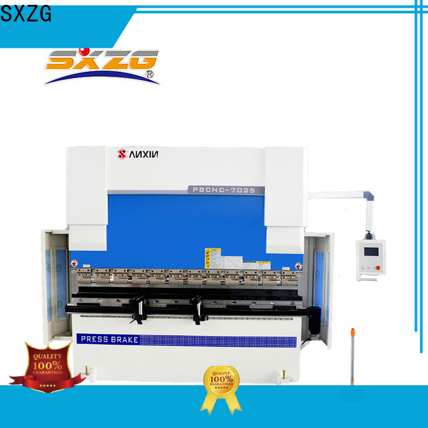 SXZG 150 ton press brake manufacturers for bending a metal sheet