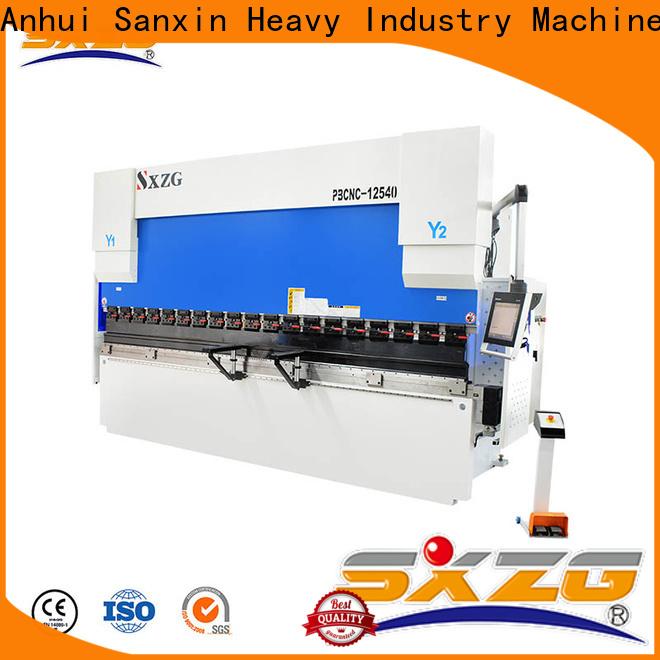 SXZG used hydraulic press brake machine suppliers for bending metal