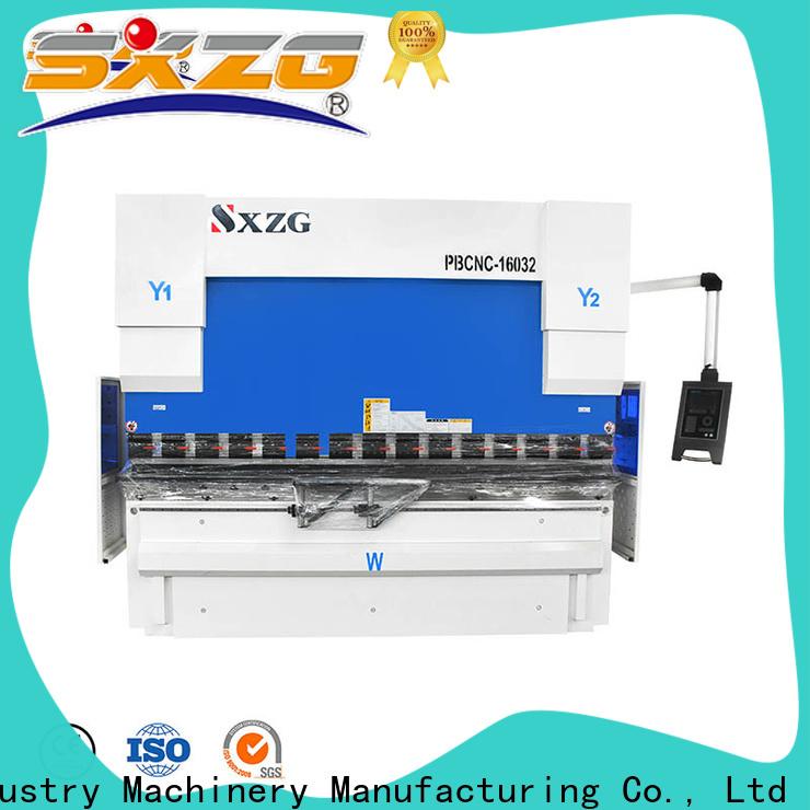 SXZG Best press brake bending supply for bending metal