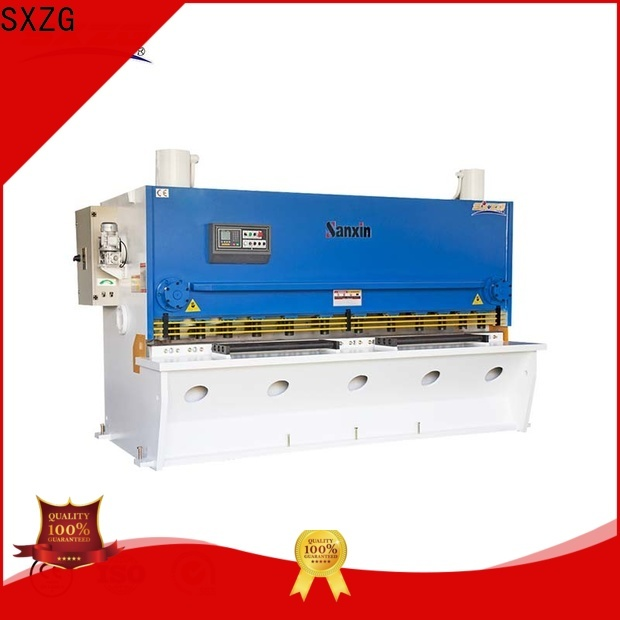 SXZG nc hydraulic shearing machine factory for cutting of alloys