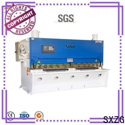 SXZG Custom manual sheet metal shearing machine manufacturers for cutting metal into sheets