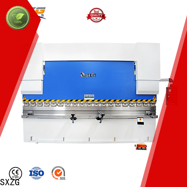 SXZG Best press brake machine malaysia supply for bending a metal sheet